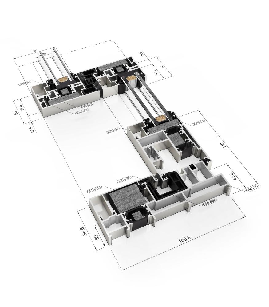 aluminium doors architect