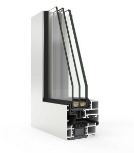hidden sash aluminium window