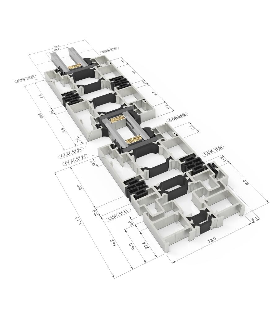 bi-folding aluminium doors