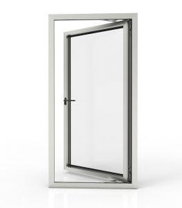 aluminium cor casement door