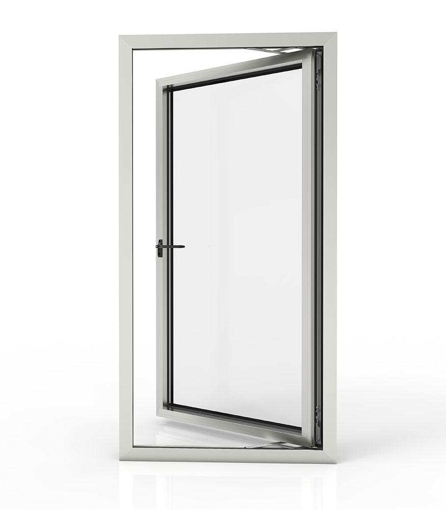 hinged aluminium windows and doors