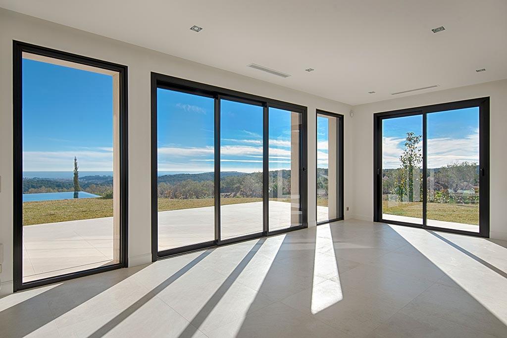 aluminium full height doors