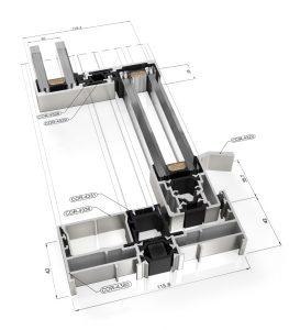 cor vision aluminium tech spec